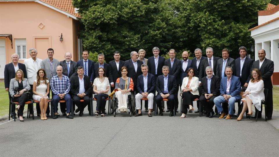 Gobernadores-Macri
